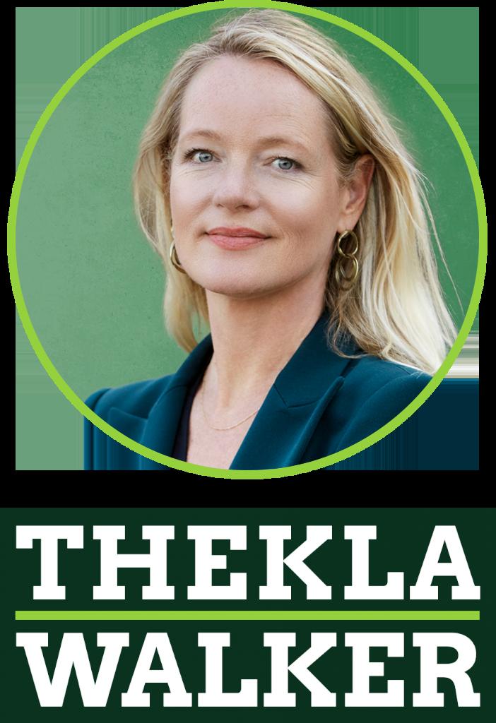 Logo und Portrait Thekla Walker MdL