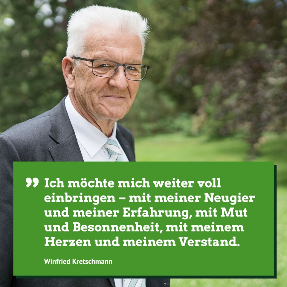 Thekla Walker zur erneuten Spitzenkandidatur von Winfried Kretschmann
