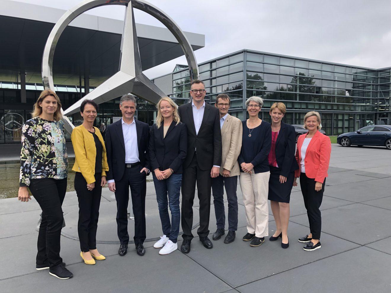 Besuch beim Mercedes-Benz Werk in Sindelfingen