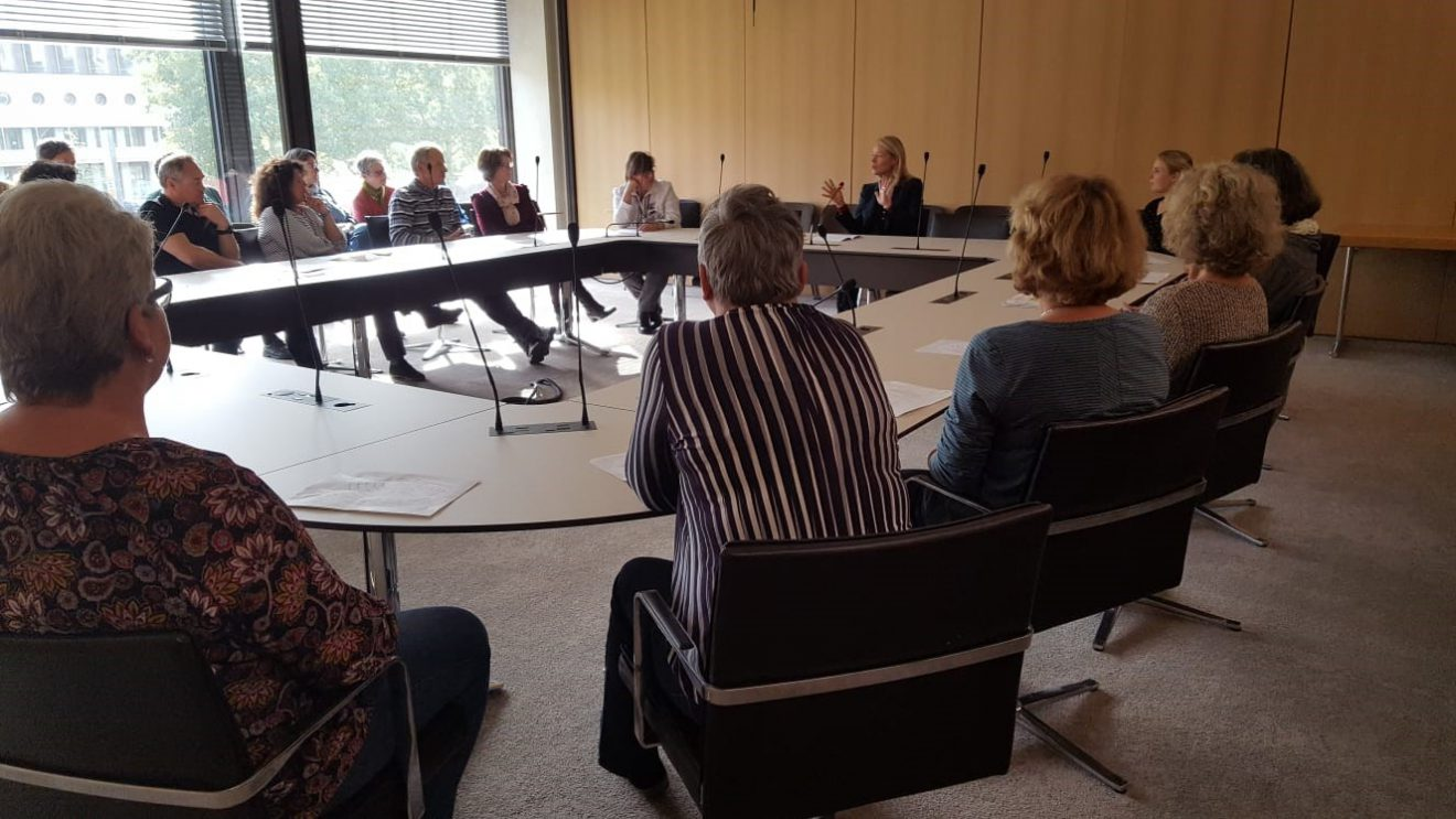 Besuchergruppe aus dem Wahlkreis zu Gast im Stuttgarter Landtag
