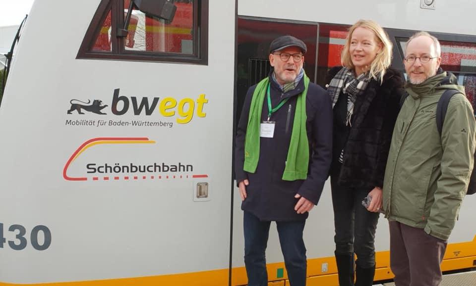Schönbuchbahn startet Linienbetrieb