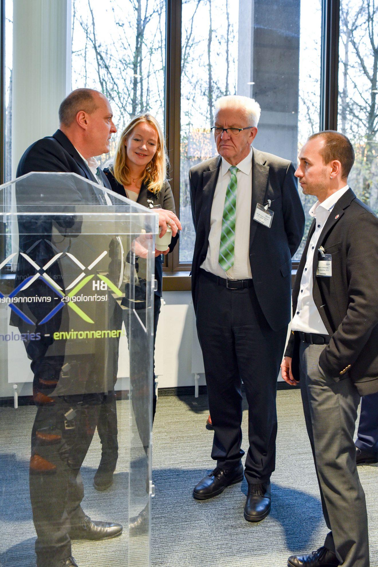 Ministerpräsident Winfried Kretschmann besucht Böblingen