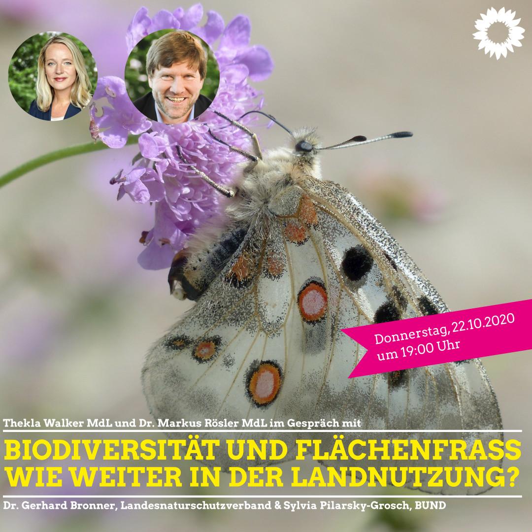 Biodiversität und Flächenfraß – wie weiter in der Landnutzung?